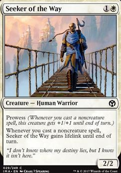 Iconic Masters Foil: Seeker of the Way