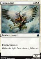 Iconic Masters Foil: Serra Angel