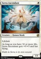 Iconic Masters Foil: Serra Ascendant