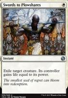 Iconic Masters: Swords to Plowshares