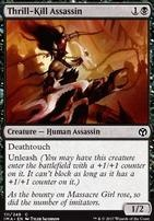 Iconic Masters Foil: Thrill-Kill Assassin
