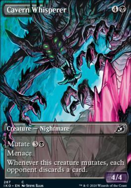 Ikoria: Lair of Behemoths Variants: Cavern Whisperer (Showcase)