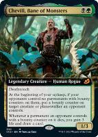Ikoria: Lair of Behemoths Variants Foil: Chevill, Bane of Monsters (Extended Art)