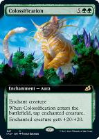 Ikoria: Lair of Behemoths Variants Foil: Colossification (Extended Art)