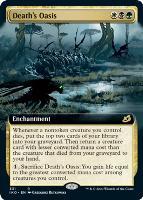 Ikoria: Lair of Behemoths Variants Foil: Death's Oasis (Extended Art)