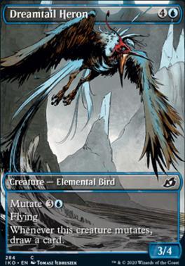 Ikoria: Lair of Behemoths Variants: Dreamtail Heron (Showcase)