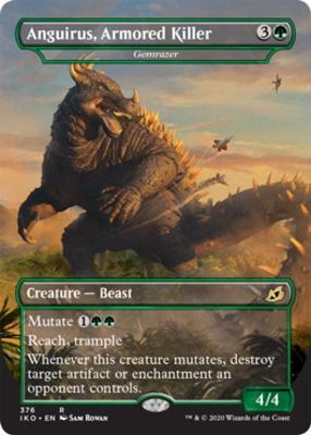 Ikoria: Lair of Behemoths Variants: Gemrazer (Anguirus, Armored Killer - Godzilla Series)