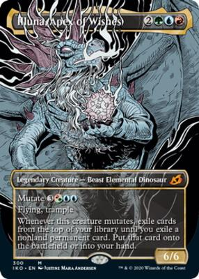 Ikoria: Lair of Behemoths Variants: Illuna, Apex of Wishes (Showcase)