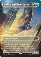 Ikoria: Lair of Behemoths Variants: Luminous Broodmoth (Mothra, Supersonic Queen - Godzilla Series)