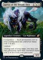 Ikoria: Lair of Behemoths Variants: Lurrus of the Dream-Den (Extended Art)