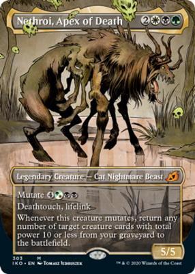 Ikoria: Lair of Behemoths Variants: Nethroi, Apex of Death (Showcase)