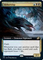 Ikoria: Lair of Behemoths Variants: Slitherwisp (Extended Art)