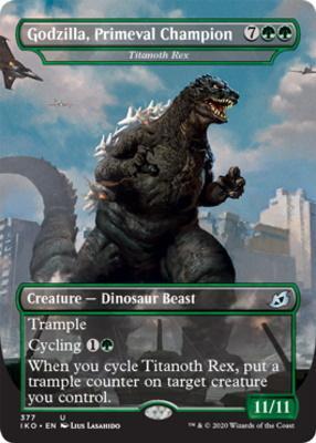 Ikoria: Lair of Behemoths Variants: Titanoth Rex (Godzilla, Primeval Champion - Godzilla Series)