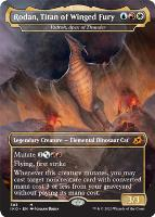 Ikoria: Lair of Behemoths Variants Foil: Vadrok, Apex of Thunder (Rodan, Titan of Winged Fury - Godzilla Series)