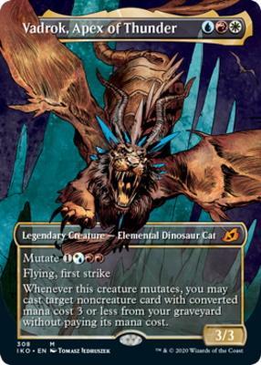Ikoria: Lair of Behemoths Variants: Vadrok, Apex of Thunder (Showcase)