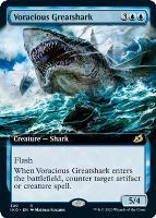Ikoria: Lair of Behemoths Variants: Voracious Greatshark (Extended Art)
