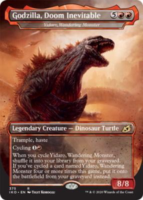Ikoria: Lair of Behemoths Variants Foil: Yidaro, Wandering Monster (Godzilla, Doom Inevitable - Godzilla Series)