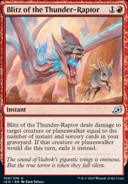 Ikoria: Lair of Behemoths: Blitz of the Thunder-Raptor