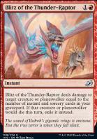 Ikoria: Lair of Behemoths Foil: Blitz of the Thunder-Raptor