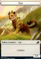 Ikoria: Lair of Behemoths Foil: Cat Token