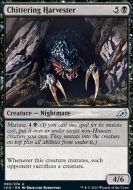 Ikoria: Lair of Behemoths Foil: Chittering Harvester