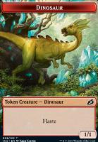 Ikoria: Lair of Behemoths Foil: Dinosaur Token