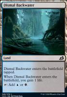 Ikoria: Lair of Behemoths Foil: Dismal Backwater