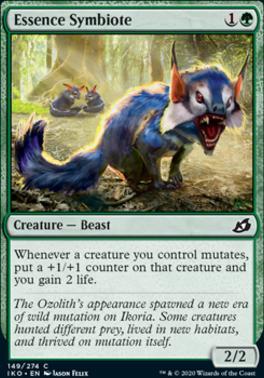 Ikoria: Lair of Behemoths Foil: Essence Symbiote