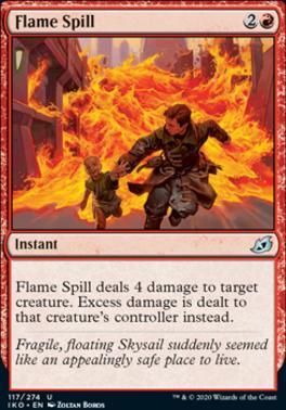 Ikoria: Lair of Behemoths Foil: Flame Spill