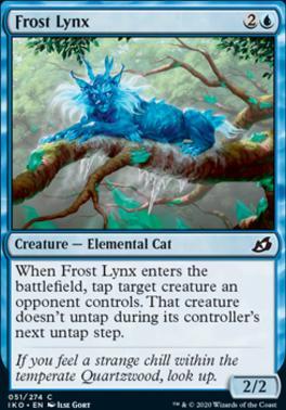 Ikoria: Lair of Behemoths: Frost Lynx