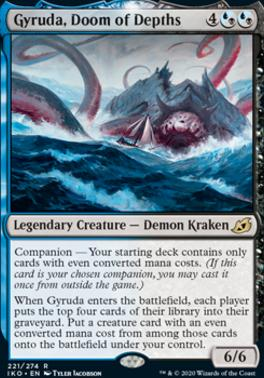 Ikoria: Lair of Behemoths: Gyruda, Doom of Depths