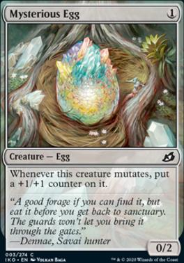 Ikoria: Lair of Behemoths Foil: Mysterious Egg
