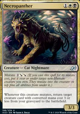 Ikoria: Lair of Behemoths Foil: Necropanther
