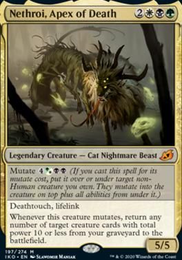 Ikoria: Lair of Behemoths: Nethroi, Apex of Death