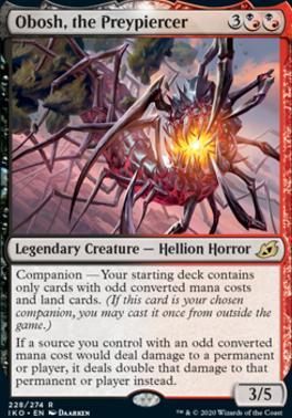 Ikoria: Lair of Behemoths: Obosh, the Preypiercer