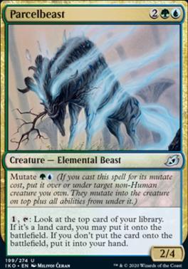 Ikoria: Lair of Behemoths Foil: Parcelbeast
