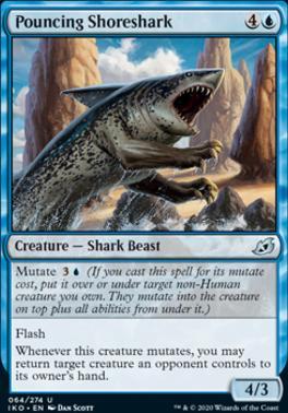 Ikoria: Lair of Behemoths Foil: Pouncing Shoreshark