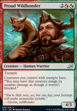 Ikoria: Lair of Behemoths: Proud Wildbonder