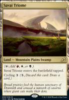 Ikoria: Lair of Behemoths Foil: Savai Triome