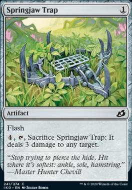 Ikoria: Lair of Behemoths: Springjaw Trap