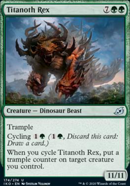 Ikoria: Lair of Behemoths: Titanoth Rex