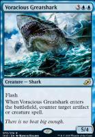 Ikoria: Lair of Behemoths Foil: Voracious Greatshark