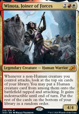 Ikoria: Lair of Behemoths: Winota, Joiner of Forces
