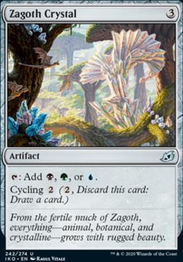 Ikoria: Lair of Behemoths Foil: Zagoth Crystal