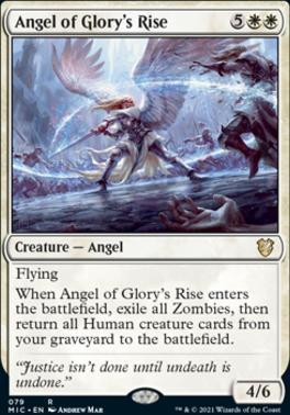 Innistrad: Midnight Hunt Commander Decks: Angel of Glory's Rise