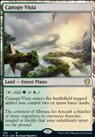 Innistrad: Midnight Hunt Commander Decks: Canopy Vista