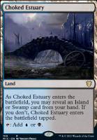 Innistrad: Midnight Hunt Commander Decks: Choked Estuary