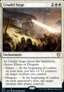 Innistrad: Midnight Hunt Commander Decks: Citadel Siege