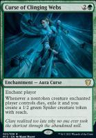 Innistrad: Midnight Hunt Commander Decks: Curse of Clinging Webs