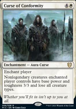 Innistrad: Midnight Hunt Commander Decks: Curse of Conformity
